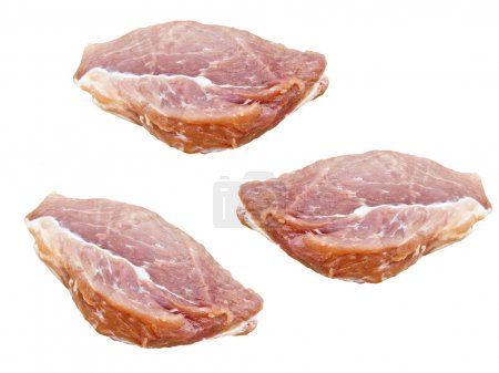Pieces of meat