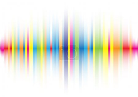 Illustration for The beautiful gradient color line background - Royalty Free Image