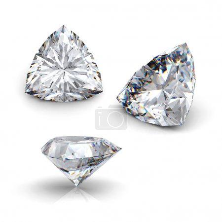 3d brilliant cut diamond