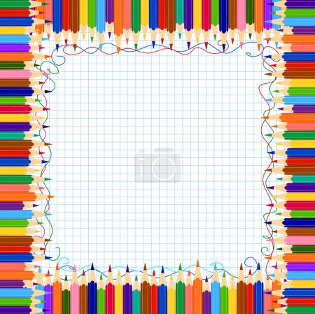 Pencil border