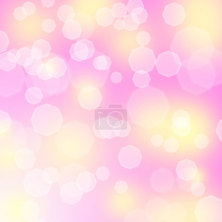 Photo for Abstract pink background with bokeh and sparkless - Royalty Free Image