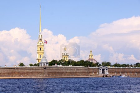 The Peter and Paul Fortress, St. Petersburg, Ru