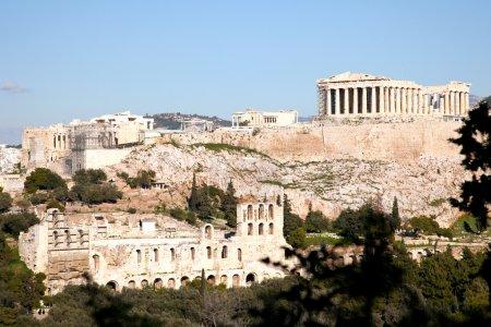 Photo for Acropolis athens greece - Royalty Free Image