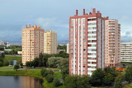 Photo pour Bâtiments résidentiels - image libre de droit