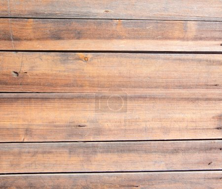 Photo pour Texture de planches de bois avec la tête du clou. horizontal - image libre de droit