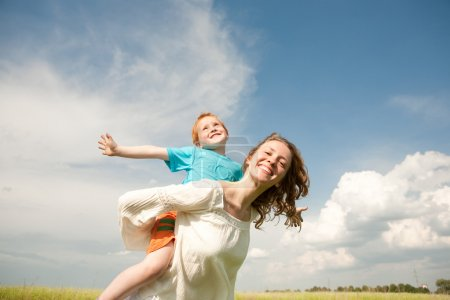 Photo for Mother and Son Having Fun - Royalty Free Image