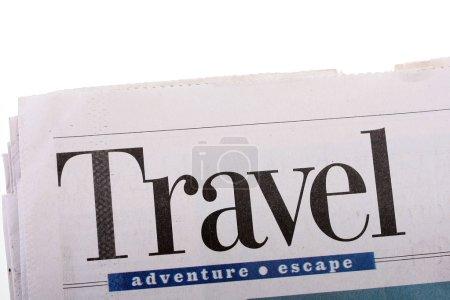 Travel newspaper