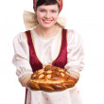 Постер, плакат: Bread and salt welcome