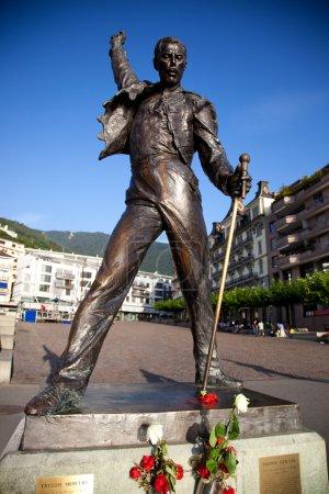 Статуя Фредди Меркьюри