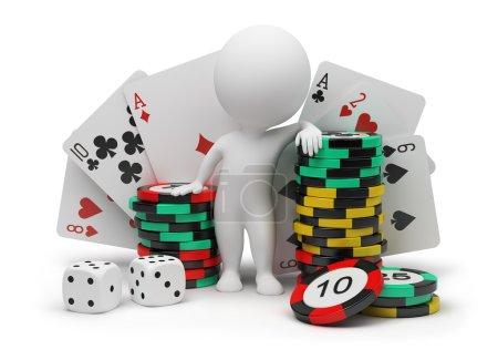 3d small - casino