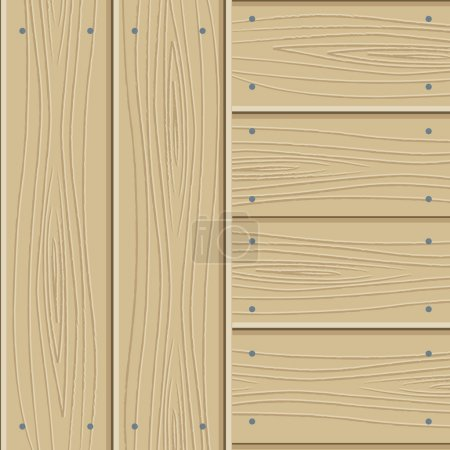 Illustration for Wooden texture - a parquet. Vector illustration - Royalty Free Image