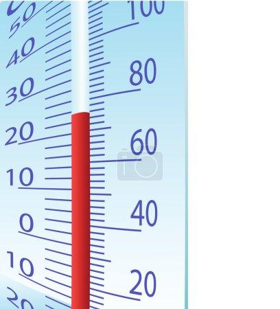 Thermometer illustration