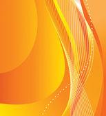 """Постер, картина, фотообои """"абстрактный оранжевый фон"""""""