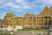Ruins of ancient roman temple in Side