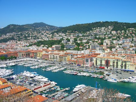 Port of Nice, Cote d'Azur, France