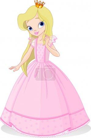Photo pour Très mignonne et belle princesse - image libre de droit