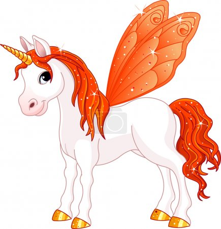 Fairy Tail Orange Horse