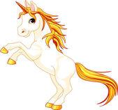 Rearing up unicorn