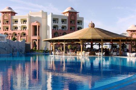 Modern hotel in Makady Bay
