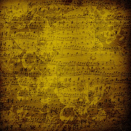 Old alienated musical paper