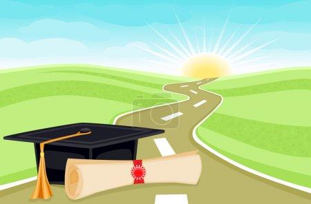 Graduation bright future