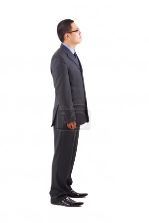 Looking young asian businessman