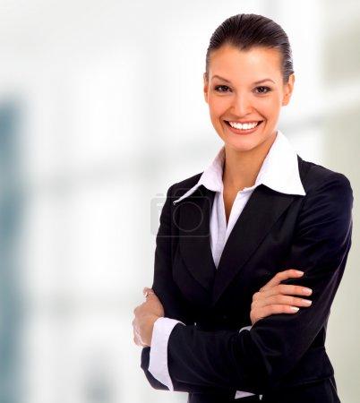 Photo pour Femme d'affaires - image libre de droit