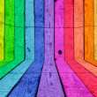 A multicolored wooden room. Please visit my portfo...