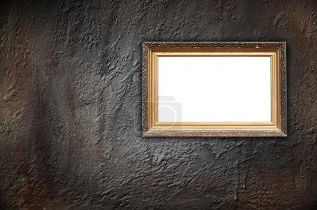 Vintage Frame on Concrete Wall