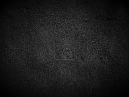 Photo for A dark concrete wall as a background - Royalty Free Image