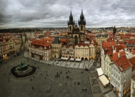 View of old Prague