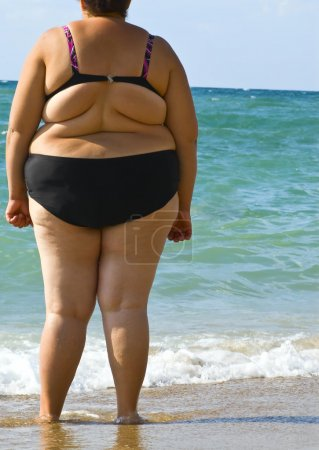Photo for Obesity women - Royalty Free Image