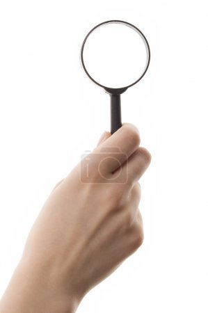 Loupe in hand
