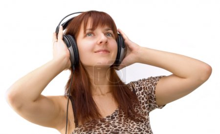 Photo for Girl with headphone - Royalty Free Image