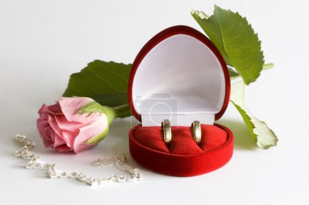 Photo for Wedding rings - Royalty Free Image