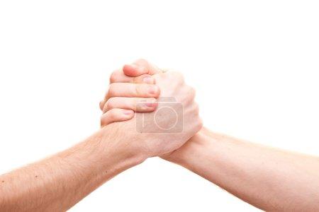 Friend hands