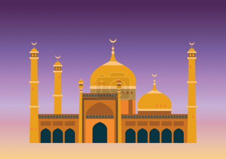 Arabian mosque