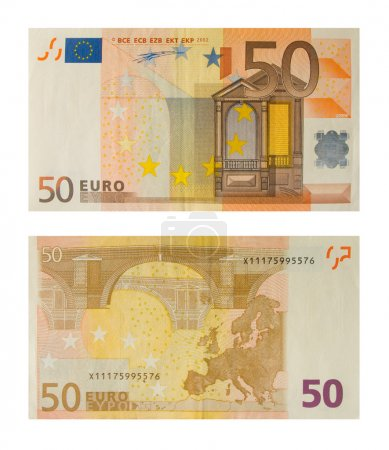 Banknote 50 euro