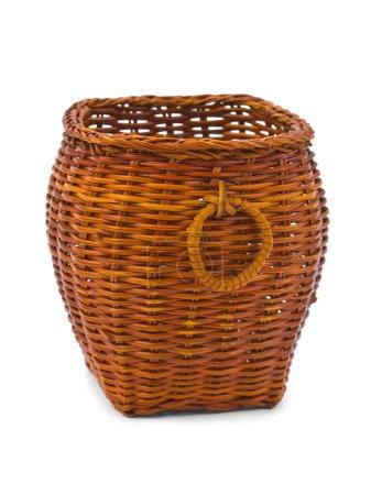 Retro wood basket