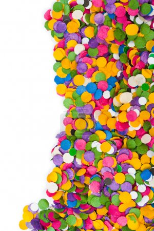 Photo pour Texture de confettis colorés - fond de vacances abstrait - image libre de droit