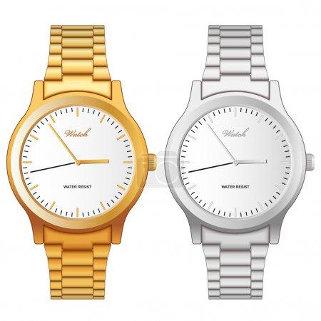 Classic hand wristwatch