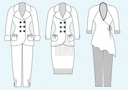 Clothes for woman
