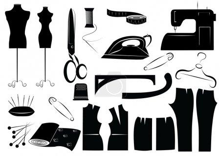 sewing equipment symbols
