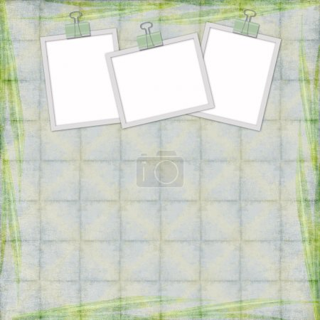 Abstract background with frames