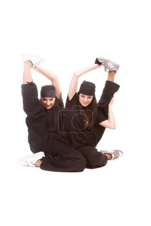Hip-hop dancers