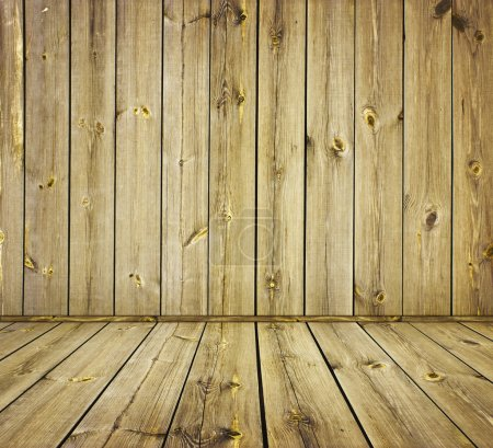 Photo for Vintage wooden planks wall background - Royalty Free Image