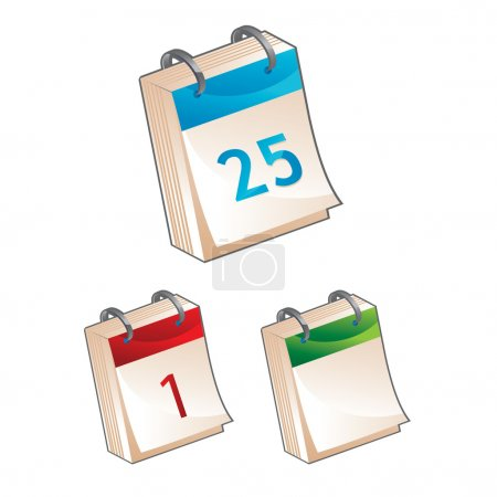 Calendar icon - vector illustration
