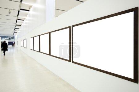 Walls in museum