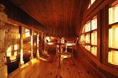 interior de madera