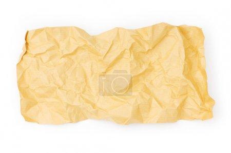 Photo pour Morceau de papier isolé sur le blanc - image libre de droit